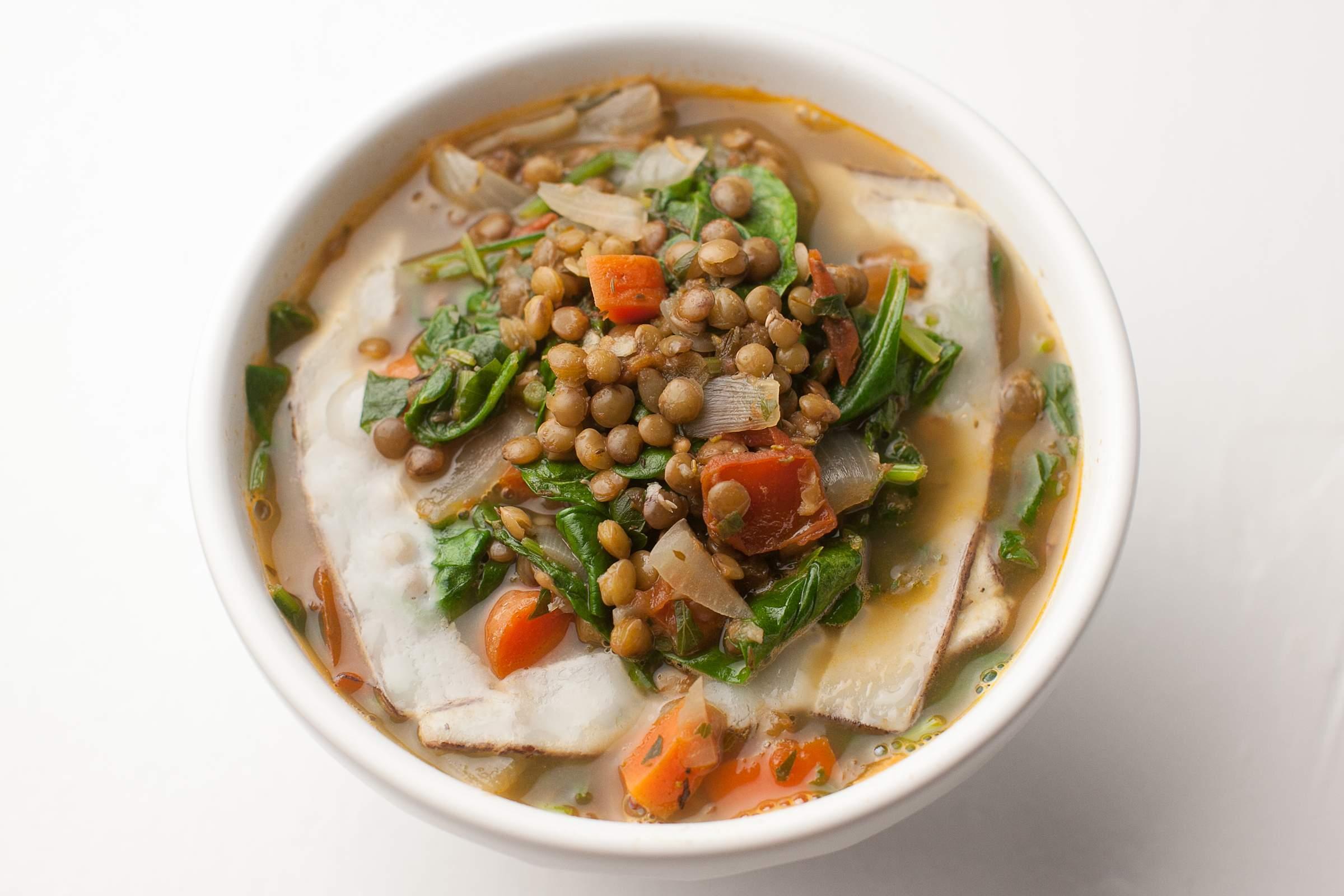 River cottage veg lentil veggie soup food photography Tom Schmidt