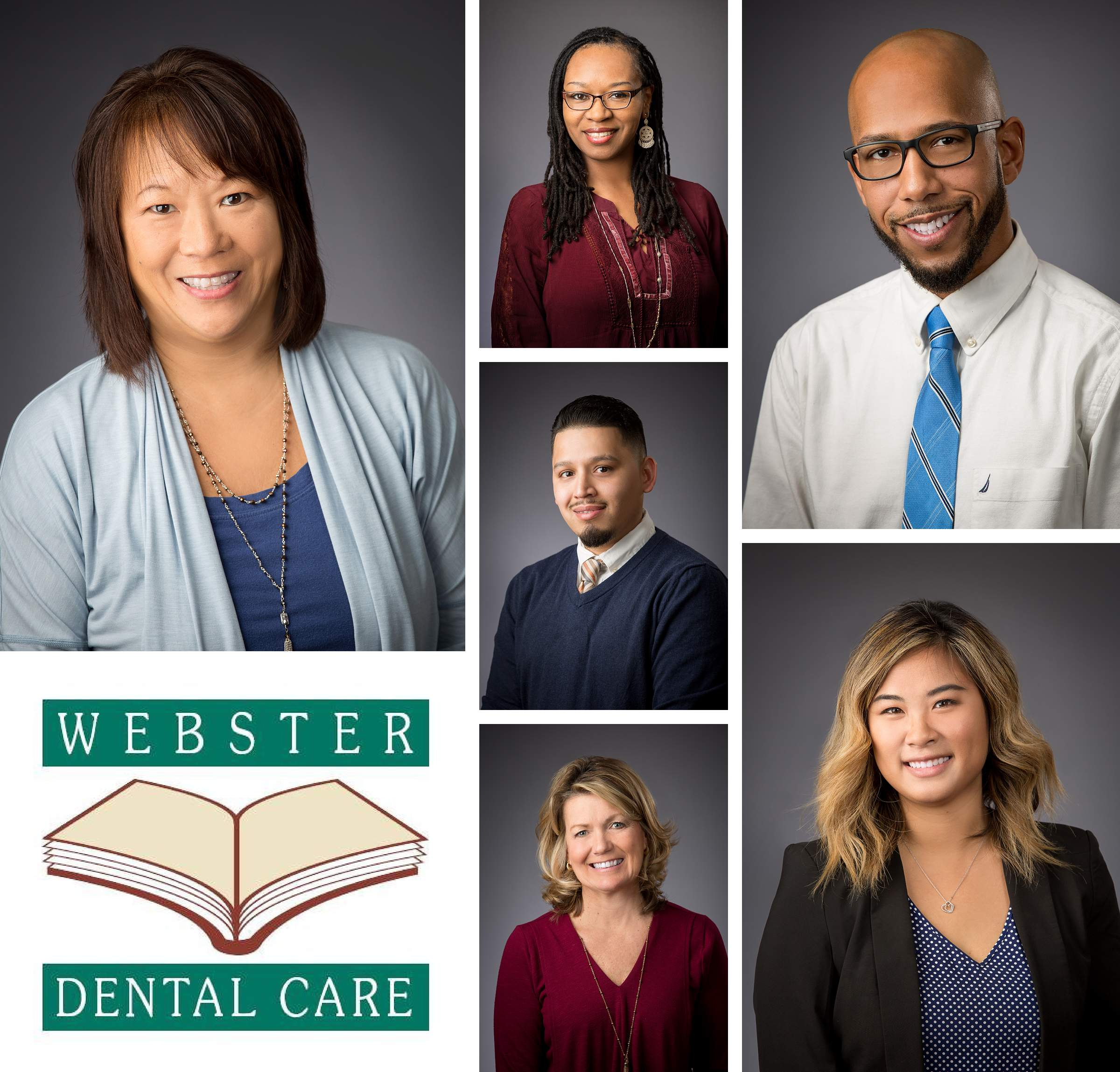 Webster Dental Care Office Manager Staff Headshots And